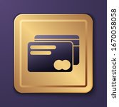 purple credit card icon... | Shutterstock .eps vector #1670058058