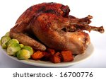 A Turkey Basted With Oil And...