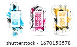 vector abstract composition... | Shutterstock .eps vector #1670153578