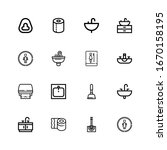 editable 16 wc icons for web...