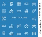 Editable 22 Joystick Icons For...