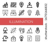 set of illumination icons. such ...   Shutterstock .eps vector #1670166832