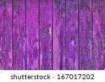 painted old wooden wall. purple ...