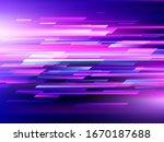 high speed. hi tech. abstract... | Shutterstock .eps vector #1670187688