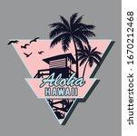 aloha vector illustration for t ... | Shutterstock .eps vector #1670212468