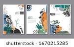 vector collection of trendy... | Shutterstock .eps vector #1670215285