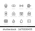 robber detectors and security... | Shutterstock .eps vector #1670330455