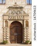 Entrance Portal Of Castle In...