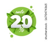 spring sale vector badge banner ...