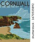Cornwall England Vector...