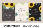 summer wedding invitation ... | Shutterstock .eps vector #1670549068