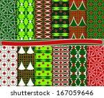 abstract christmas vector set...