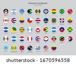 america continent countries... | Shutterstock .eps vector #1670596558