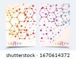 vector templates for brochure... | Shutterstock .eps vector #1670614372