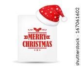 Xmas Blank Gift Tag With Santa...