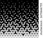 triangular geometric pattern.... | Shutterstock .eps vector #1670666755