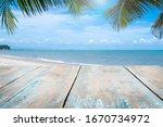 Wooden Floors And Ocean...