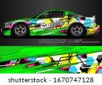 car graphic background vector. ... | Shutterstock .eps vector #1670747128