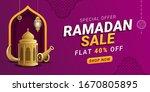 Ramadan Sale Discount Banner...