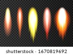 flame and smoke from space... | Shutterstock .eps vector #1670819692
