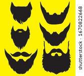 beige and mustache in black   Shutterstock .eps vector #1670822668