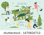 Vector Spring Fair Poster ...