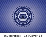 phone icon inside emblem with... | Shutterstock .eps vector #1670895415