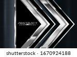 modern arrow dark navy... | Shutterstock .eps vector #1670924188
