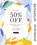 abstract mobile promotion sale...   Shutterstock .eps vector #1670950258