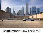 View Of Chicago Skyline With A...
