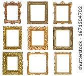 Set Of Golden Frames For...