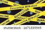vector coronavirus covid 19 or... | Shutterstock .eps vector #1671335545