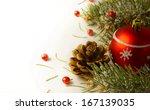 christmas tree garland        ... | Shutterstock . vector #167139035