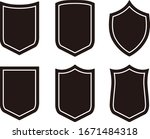 various emblems vector... | Shutterstock .eps vector #1671484318