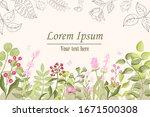 vector illustration in simple... | Shutterstock .eps vector #1671500308