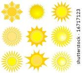 sun set | Shutterstock . vector #16717123