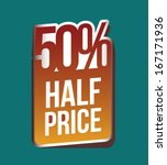 shopping  design over  blue... | Shutterstock .eps vector #167171936