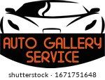 auto gallery service car repair   Shutterstock .eps vector #1671751648