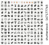 web icons. big set for you... | Shutterstock .eps vector #167177765