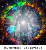 Spirit Emerges From Fire Circl...