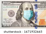 One Hundred Dollar Bill With...