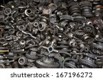 old machine parts in second... | Shutterstock . vector #167196272
