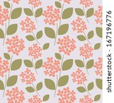 seamless pattern with... | Shutterstock . vector #167196776