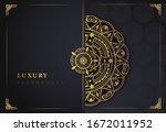 luxury background vector ... | Shutterstock .eps vector #1672011952