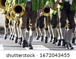 A Brass Band In Leather Pants...