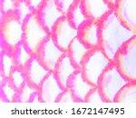 Tiger Pink Animal Print Pattern....