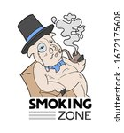 Smoking Zone Message And Funny...