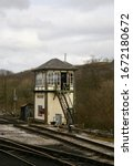 A View Of The Signal Box At...