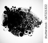grunge background    Shutterstock .eps vector #167221322