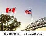 International border crossing....